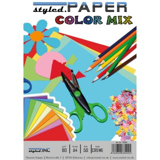 ansicht styled.Paper Color Mix Creme