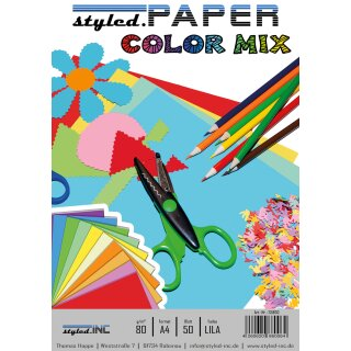ansicht styled.Paper Color Mix Lila