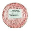 Lachsschinkennetz 50m rot/weiß 14er