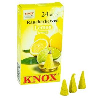 ansicht KNOX Räucherkerzen Lemon hinten