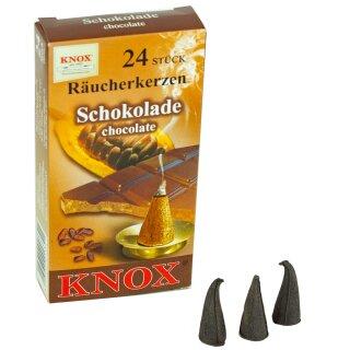 ansicht KNOX Räucherkerzen Schokolade hinten