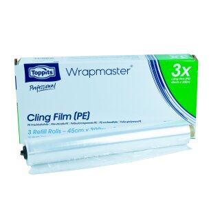 Ansicht Wrapmaster PE-Folie