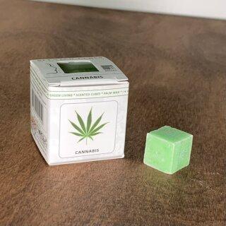 Scented Cubes Cannabis für die Duftlampe im Karton